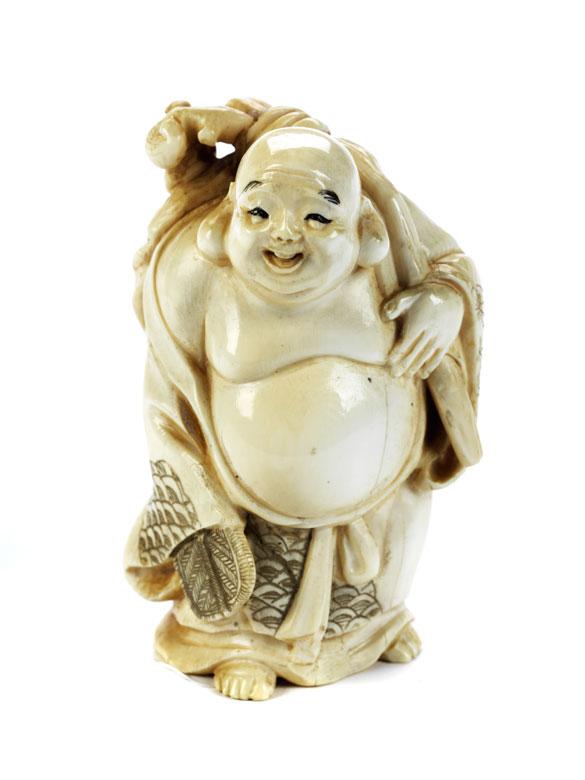 Kleines Okimono Hotei