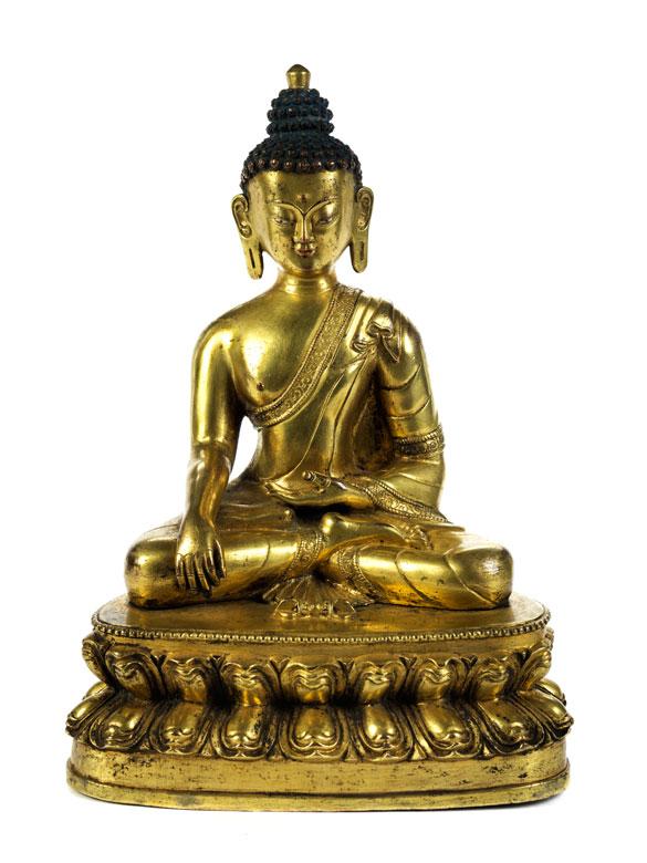 Vergoldeter Buddha