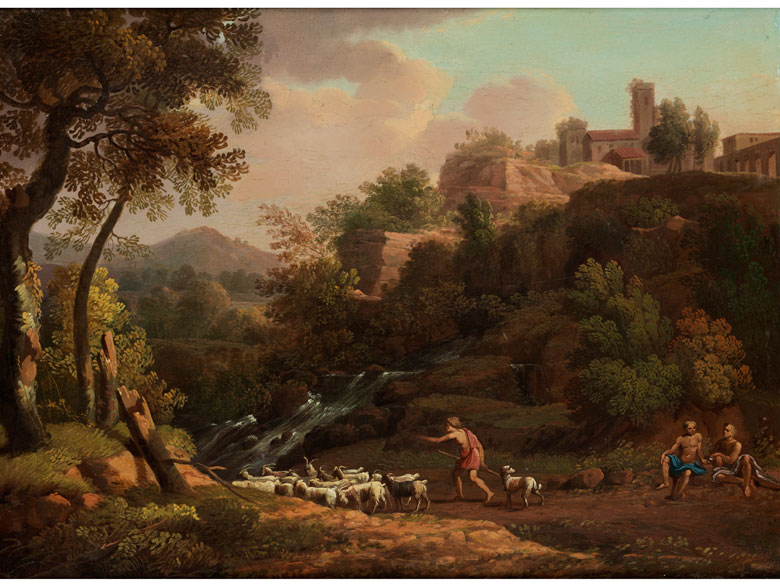 Jacob Philipp Hackert, 1737 Prenzlau – 1807 Florenz, Art des