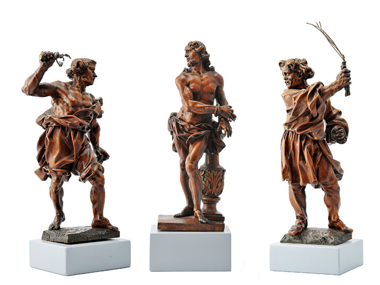 Figurengruppe der Geißelung Christi, Umfeld David Heschler (1611 – 1667)