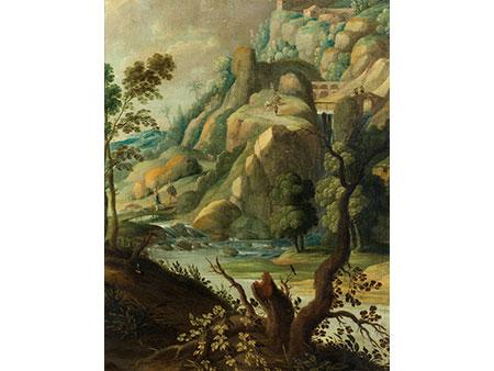 Paul Bril, 1554 – 1626, Nachfolge