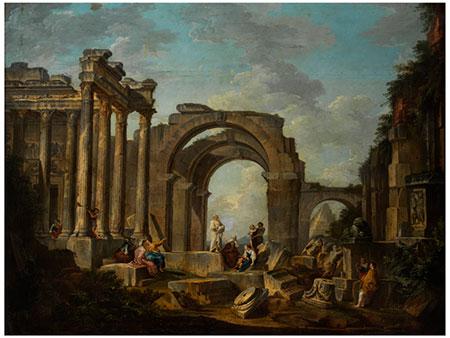 Giovanni Paolo Panini, 1691 Piacenza – 1765 Rom, zug./ Werkstattbeteiligung des
