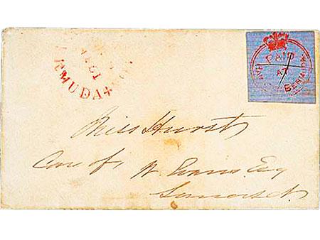 Briefmarke: Bermuda, 1860 - 1861