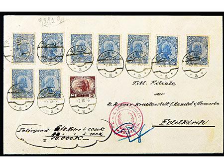 Briefmarken: Liechtenstein