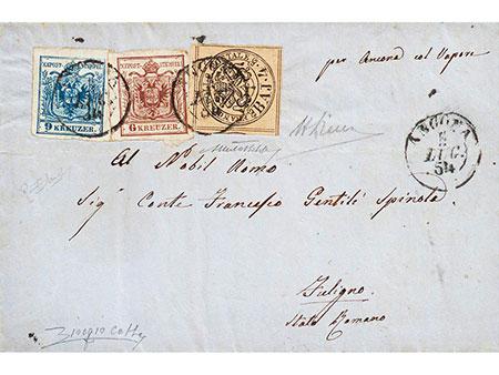 Briefmarken: Österreich und Kirchenstaat