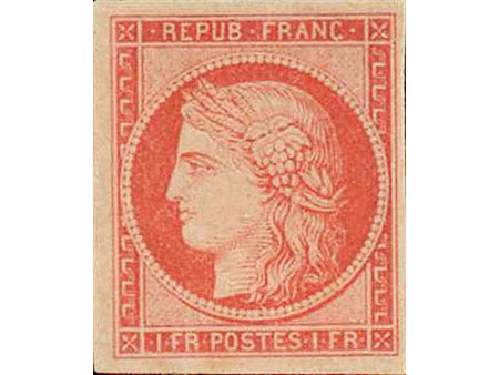 Briefmarke: Frankreich