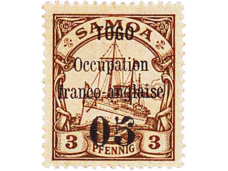 Briefmarke: Togo 1914