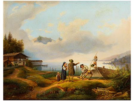 Adalbert Waagen, 1833 München – 1898 Berchtesgaden