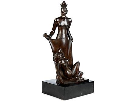 P. Costagli, italienischer Künstler des 20. Jahrhunderts
