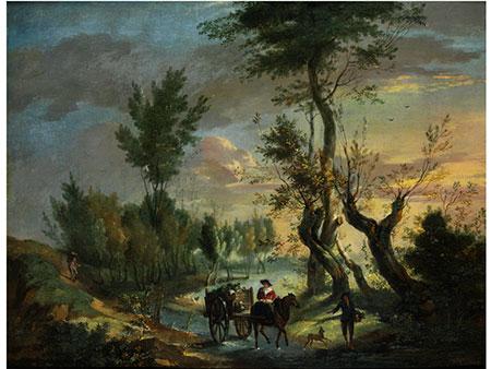 Pieter Andreas Rysbraeck, 1690 – 1748, zug.