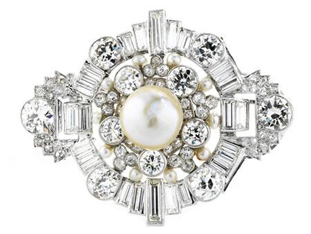 Detail images:  Perl-Diamantbrosche