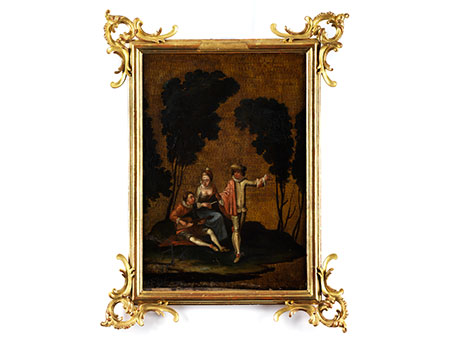 Dekorationsgemälde des 18. Jahrhunderts