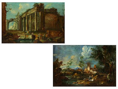 Maler aus dem Kreis von Antonio Francesco Peruzzini (um 1650 – 1724) und Alessandro Magnasco (um 1667 – 1749)
