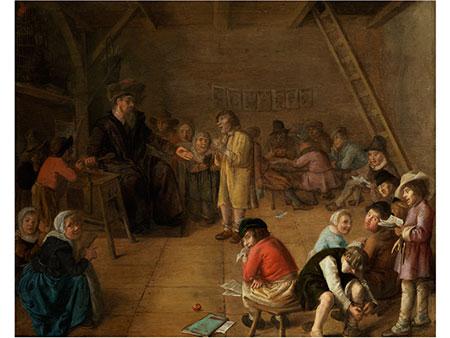 Jan Miense Molenaer, 1609 Haarlem – 1668 ebenda