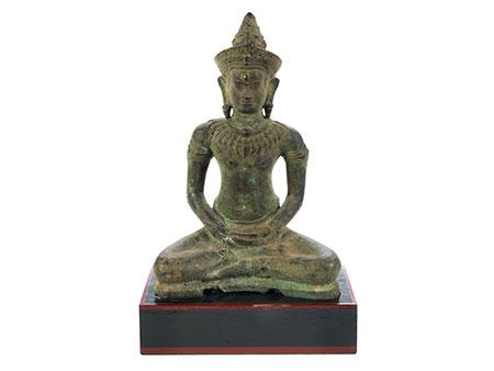 Buddhafigur in Bronze