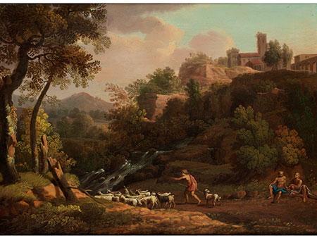 Jacob Philipp Hackert, 1737 Prenzlau – 1807 Florenz, Art des