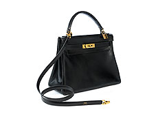 Hermès Kelly Bag 28 cm Black