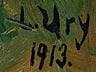 Detail images: Lesser Ury, 1861 Birnbaum – 1931 Berlin