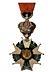 Detail images: Paar überdimensionale, hölzerne Wanddekorationen in Form von Orden der Légion d´honneur