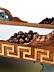 Detail images: Seltenes Empire-Bett mit Schwanendekor