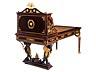 Detail images: Außergewöhnlicher Napoleon III-Schreibtisch mit Empire-Dekor