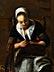 Detail images: Nicolaes Maes, 1634 Dordrecht – 1693 Amsterdam, zug./ Art des
