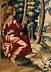 Detail images: Seltener englischer Wandteppich des ausgehenden 17. Jahrhunderts