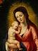 Detail images: Madonna mit Kind in Blütenkranz