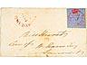 Detailabbildung: Briefmarke: Bermuda, 1860 - 1861
