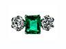 Detail images: Smaragd-Diamantring