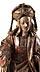 Detailabbildung: Spätgotische Schnitzfigur der Heiligen Maria Magdalena