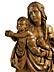 Detail images: Mondsichelmadonna mit Jesuskind