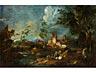 Detail images: Maler aus dem Kreis von Antonio Francesco Peruzzini (um 1650 – 1724) und Alessandro Magnasco (um 1667 – 1749)