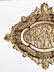 Detail images: Prachtvolle große Schauplatte in Elfenbein mit vergoldeten Silberapplikationen