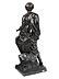 Detail images: Bronzefigur Caesar