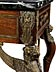 Detail images: Napoleon III-Tisch mit Bronzebesatz