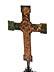 Detail images: Museales Bronzekreuz des 14. Jahrhunderts