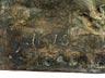 Detailabbildung: Bronzehochrelief mit Darstellung einer Mondsichelmadonna