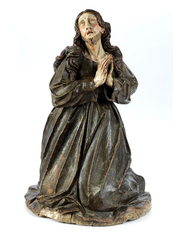 Jesus am Ölberg