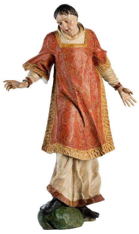 Figur eines Kirchenheiligen