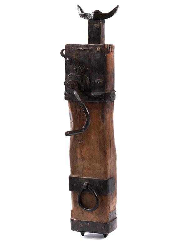 Werkzeug einer Schmiede