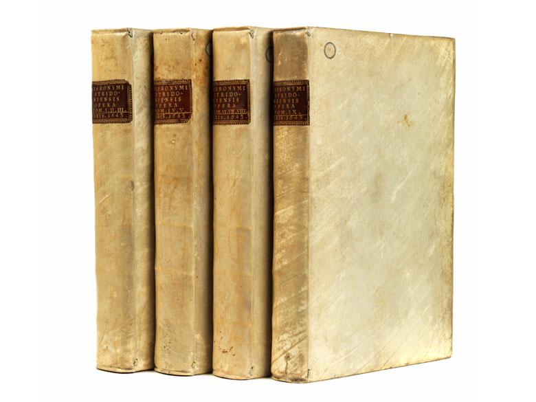 Sancti Hieronymi Stridoniensis Opera Omnia in vier Büchern