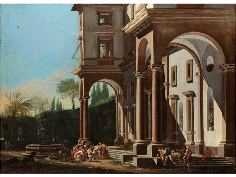 Viviano Codazzi (1604 – 1670) und Filippi Lauri (1609 – 1694)