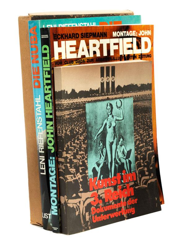 Konvolut von vier Büchern zum Thema Drittes Reich