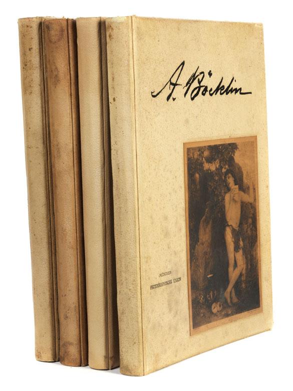 Vier Bücher Arnold Böcklin