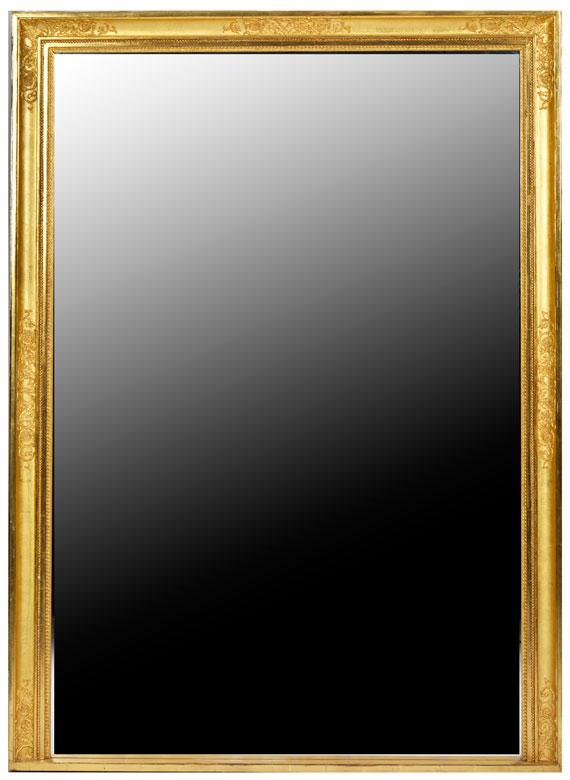 Großer Spiegel im Empire-Stil
