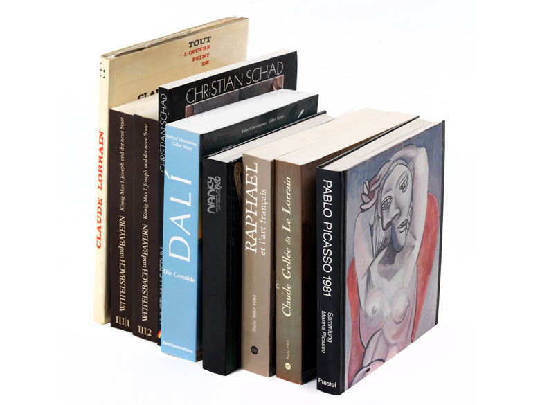 Konvolut Bücher zum Thema Kunst