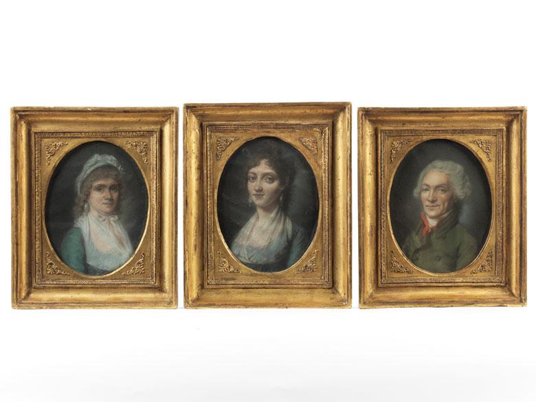 Maler Anfang des 19. Jahrhunderts