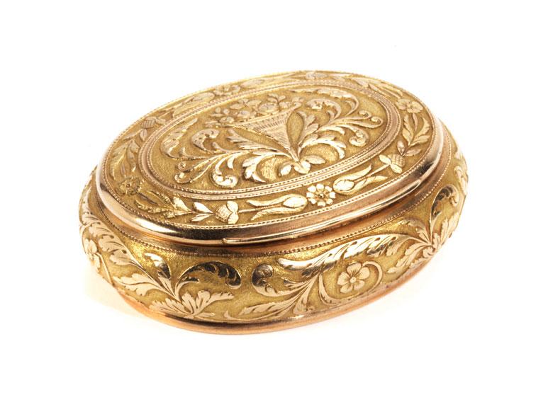 Goldene Pariser Riechdose