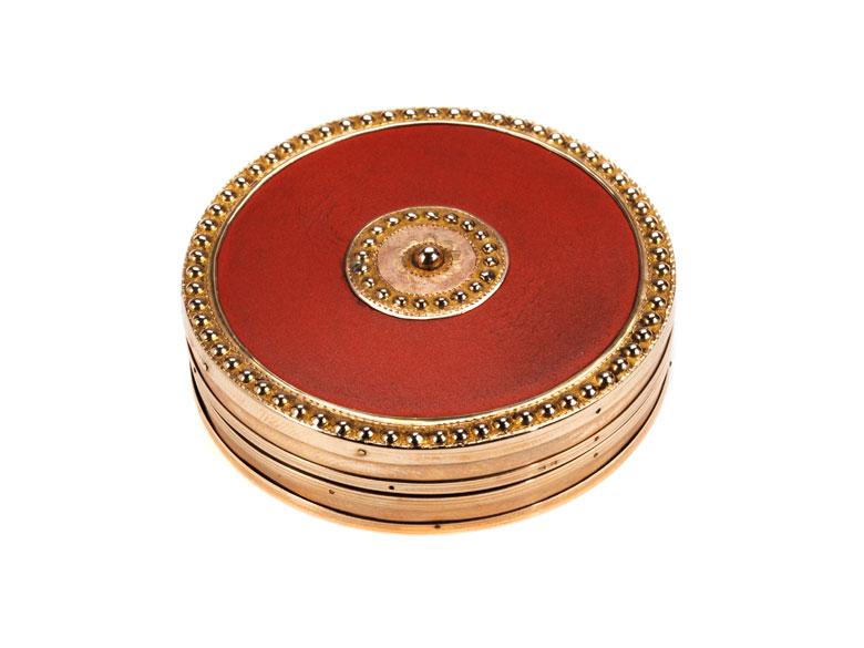 Französische Goldtabatière